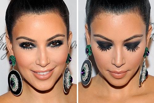 maxi ojos kim kardashian