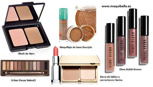 Maquillaje working girl
