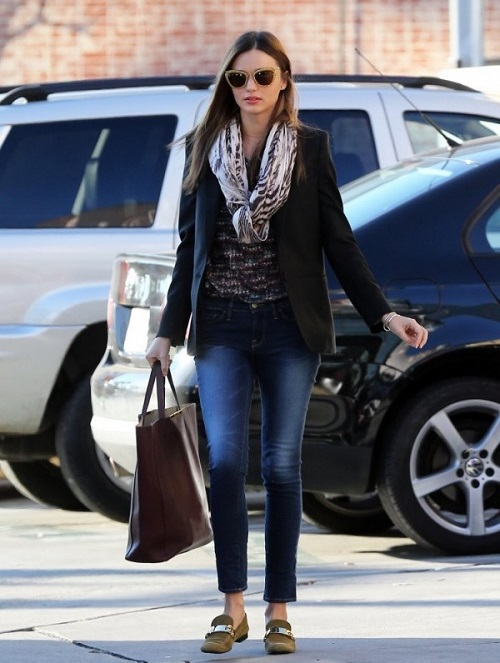 miranda kerr jeans style