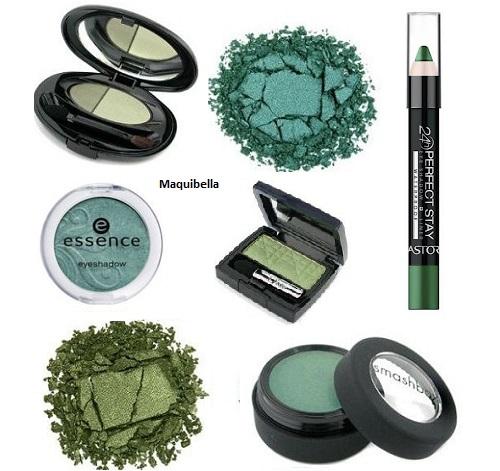 maquillaje-con-sombras-de-ojos-verdes