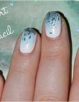 Manicura Frozen con Nail Art Fácil