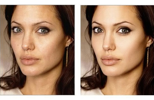 angelina jolie sin photoshop