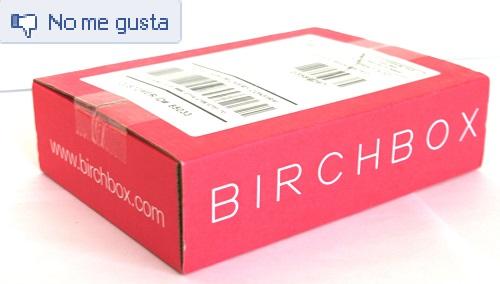 birchbox no me gusta