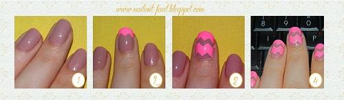 tutorial uñas con esmalte adhesivo