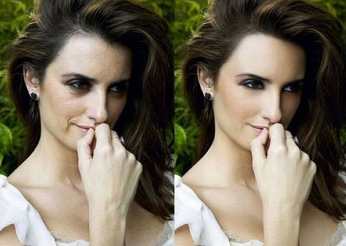 penelope cruz photoshop