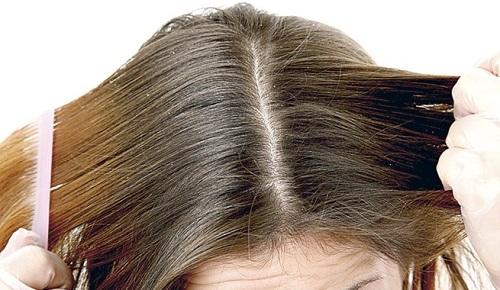 polvos talco para el pelo sucio